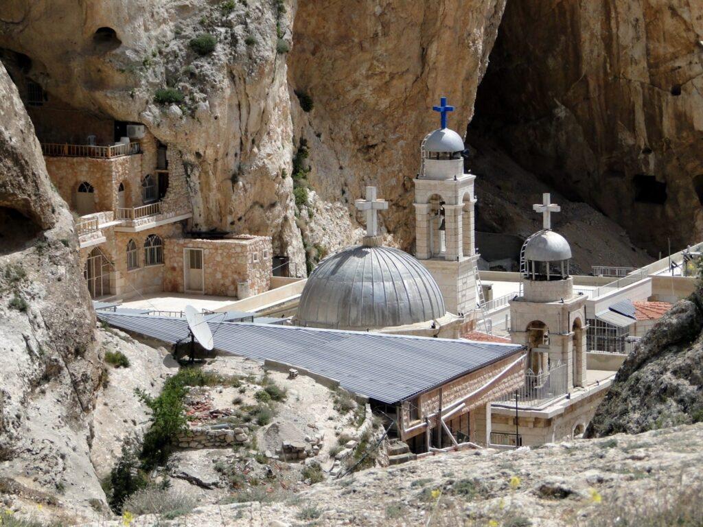 Het klooster van Sint Takla in Maloela